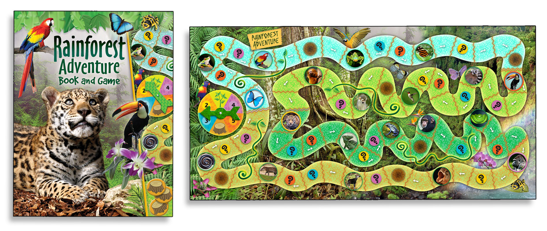 Rainforest Gamebook