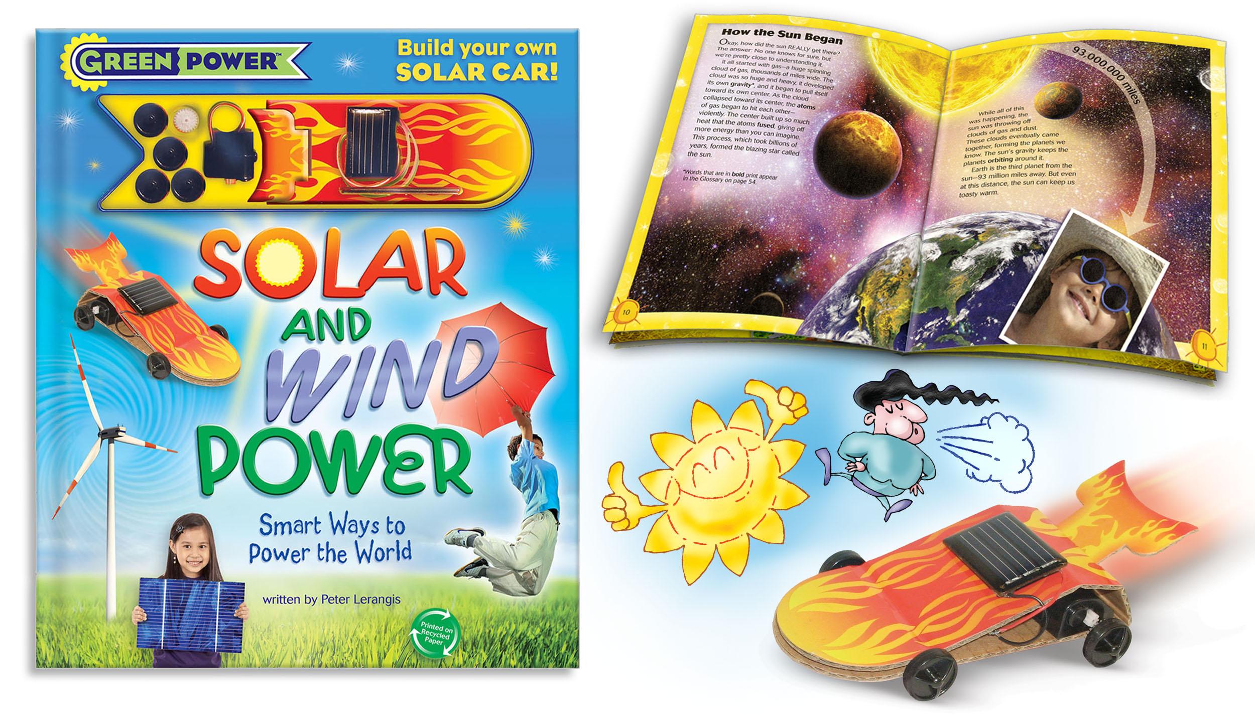 Solar and Wind Cover Karen Viola book design Green Power