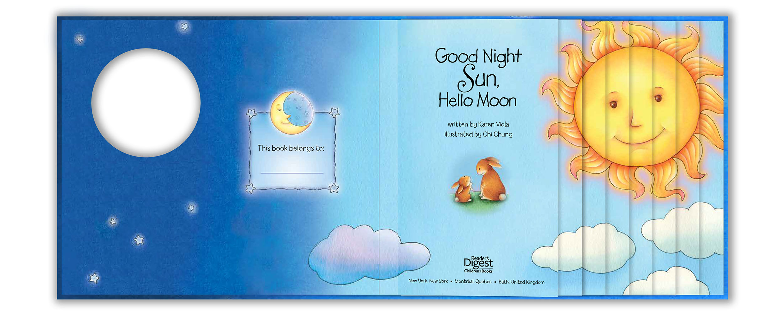 Good Night Sun Hello Moon by Karen Viola