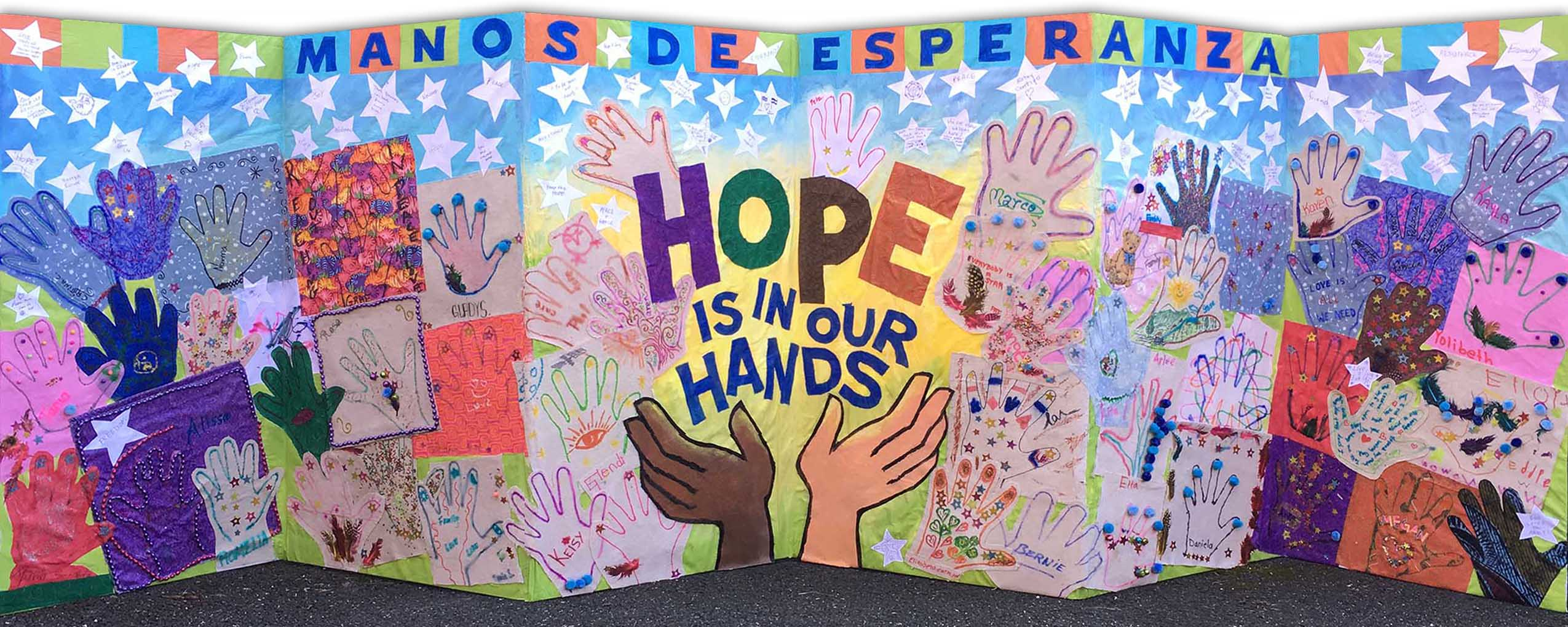 Hands of Hope Banner